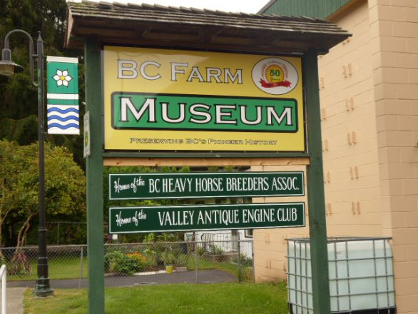 BC-farmmuseum Fort Langley (Vancouver) Canada.